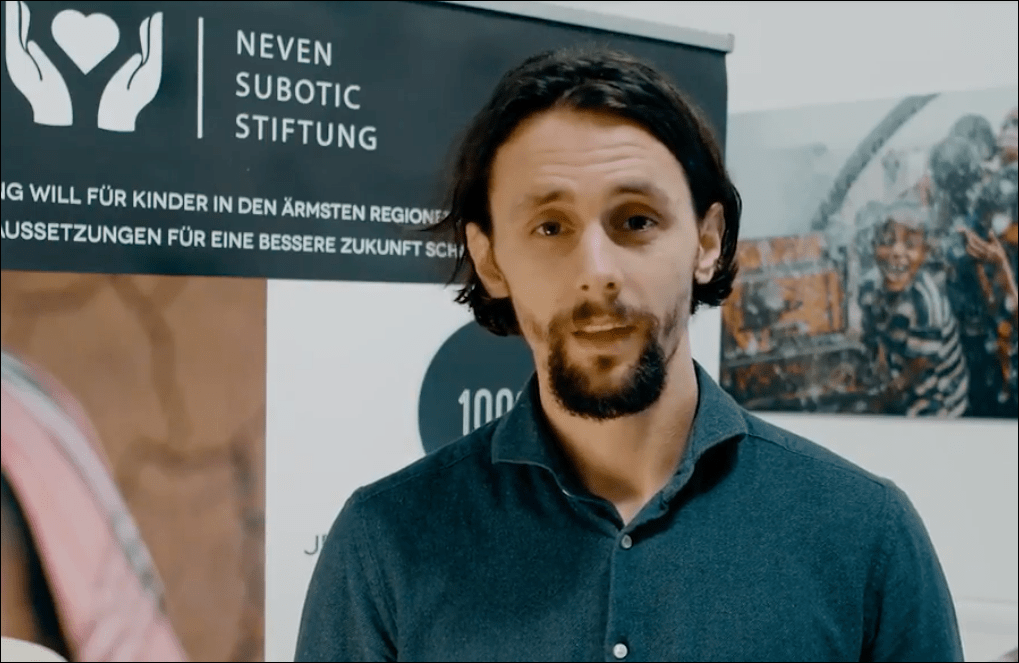 SKF Economos spendet an Nevin Subotic Stiftung